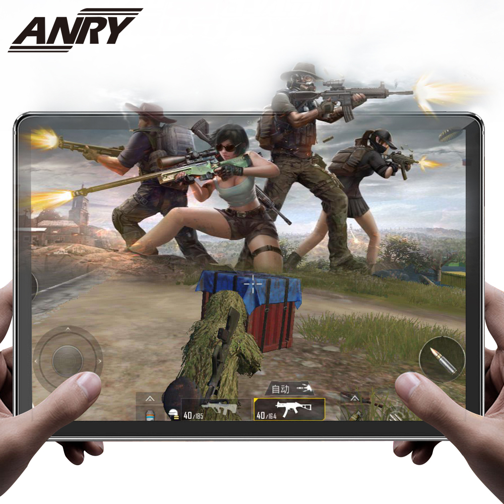 ANRY Game Office Tablet 11.6 Inch Deca Core MTK6797T X25 4G Network Phone Call IPS 1920X1080 Dual Camera Type C Phablet