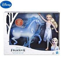 Оригинальная кукла disney frozen2 и сцена Эльза лошадка с куклой