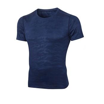 Męskie koszulki do biegania szybkie suche t-shirty sportowe Fitness Gym koszulki do biegania koszulki piłkarskie męska odzież sportowa oddychająca koszulka # D tanie i dobre opinie Perimedes Pasuje prawda na wymiar weź swój normalny rozmiar harajuku aesthetic haut femme bangtan tee shirt men chemise men