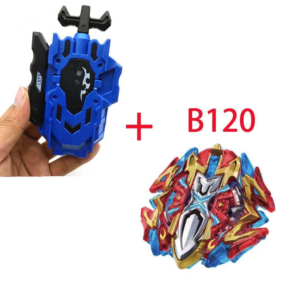 Волчок Beyblade BURST B-130 B-117 с пусковым устройством Bayblade Bay blade металл пластик Fusion 4D Подарочные игрушки для детей - Цвет: B120