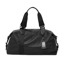 2021 New Men's Travel Duffle Bag Dry/Wet Separation PU Leather Business Trip Women Weekend Fitness Ladies Yoga Gym Bag