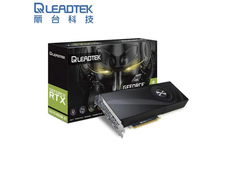 Leadtek  RTX2070 SUPER 8G EC Turbo Public Edition Desktop Graphics Ray Tracing / Deep Learning Graphics Card