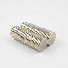 Magnes neodymowy rzadka ziemia małe silne okrągłe elektromagnes na lodówkę permanentną NdFeB nickle magnetic DISC tanie tanio xhigh Stałe Magnes głośnika Magnes ziem rzadkich Arkusz Nickel 0-0 2mm