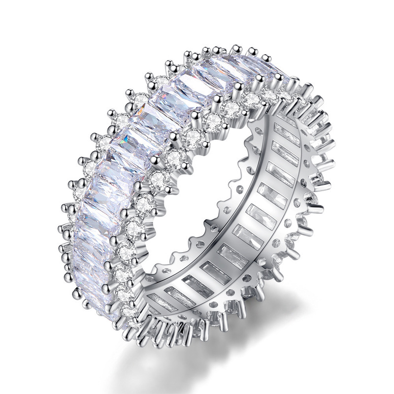 Micro-Ring Couples Ring-Sell Female Amazon Studded-Drill Valentine's-Day-Gifts Hot-Cakes