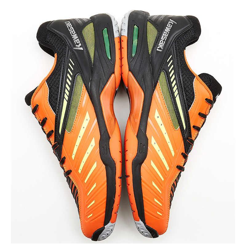 Giày Cầu Lông Kawasaki Cho Nam Cam Chuyên Nghiệp Trong Nhà Triều Đình Giày Thể Thao Sneaker Chống Trơn Trượt Cứng K-520 K-522