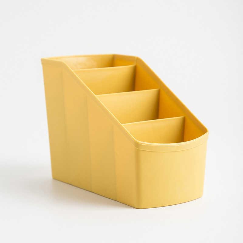 Деревянная коробка PP коробка держатель для сотового телефона ТВ пульт дистанционного управления настольная подставка коробка для хранения удобный органайзер для макияжа Boite De Range