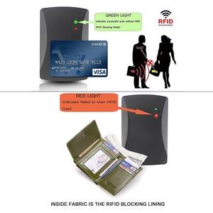 Image 4 - GZCZ אמיתי עור Slim ארנק נשים Portafoglio דונה מטבע ארנק נשים Walet נשי Portomonee רוכסן עיצוב RFID חסימת