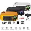 Мини портативный карманный проектор HD 1080P ЖК-видео для домашнего кинотеатра HDMI USB JLRJ88
