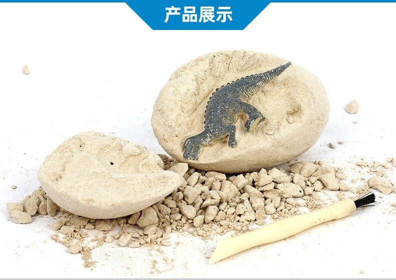 Dinossauro arqueológico dinossauro ovos simulação dinossauro modelo