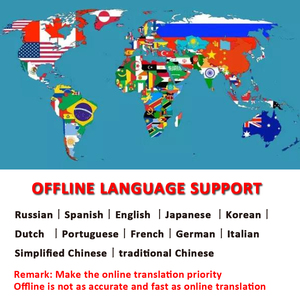 Image 2 - 휴대용 스마트 음성 번역기 글로벌 오프라인 번역기 통역 번역기 지능형 번역 러시아어 번역