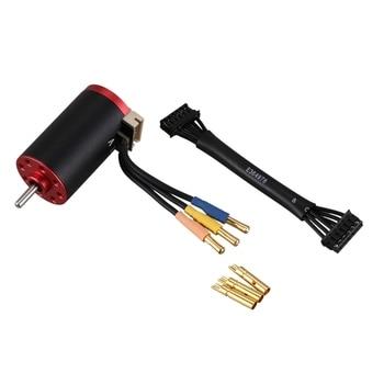 Brushless Upgrade 1625 4300KV Brushless Motor with 45A Sensored ESC Combo for RC 1/24 1/28 Car