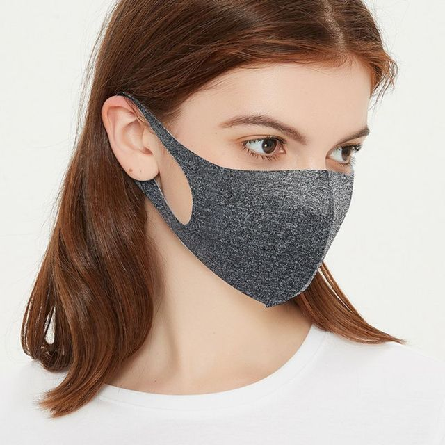 Thin Style Summer Face Shield mask Face Mask Breathable Reusable Anti Pollution Mouth Cover 2