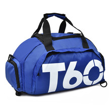 Women Sports Bag Gym Men Fitness Waterproof Outdoor Separate Space for Shoes Pouch Rucksack Hide Backpack