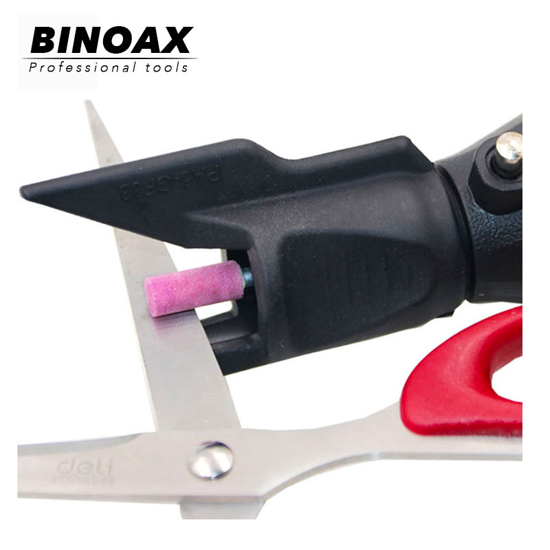 BINOAX Saw Sharpening Attachment Sharpener Guide Drill Adapter For Dremel Drill Rotary Power Tools Mini Drill Accessories Set