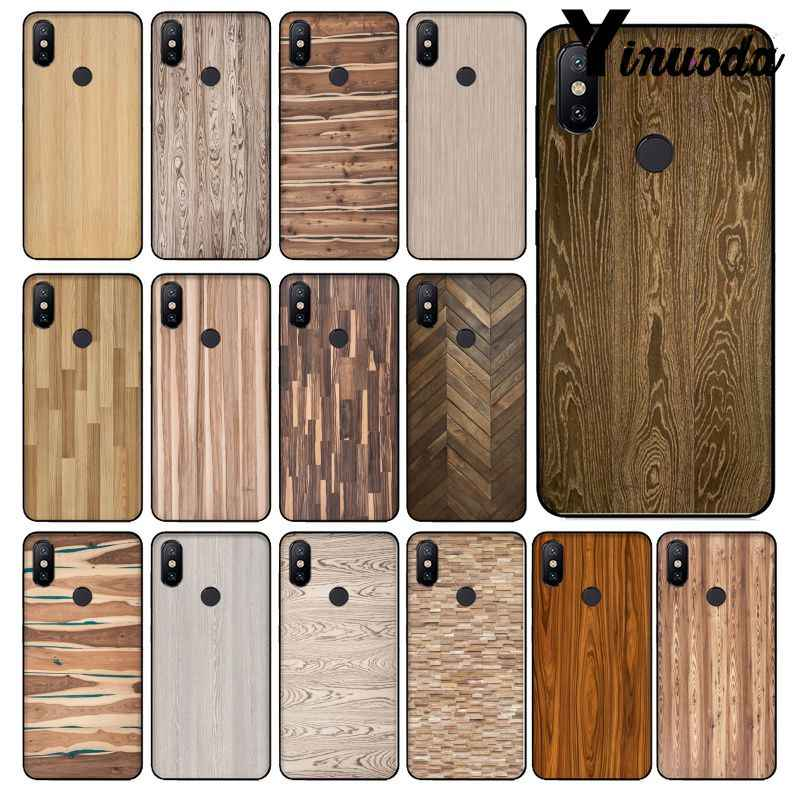 Funda para teléfono con dibujo de grano de madera Yinuoda carcasa para Red mi 5 5 plus 6 6Pro 6A Note 5 xiaomi mi 6 8 8 SE nota 3