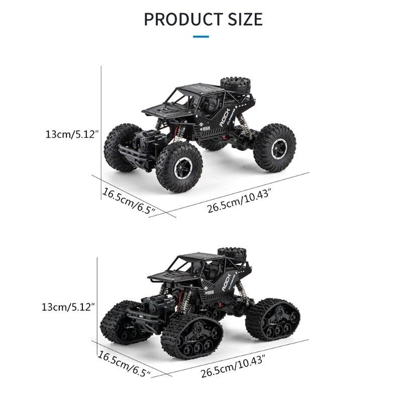 J2FF RC скалолазание автомобиля 2,4 ГГц 3,7 V 1200 мА/ч, Радиоуправляемый гоночный автомобиль игрушки RC Гусеничный подарок для детей аксессуары для ...
