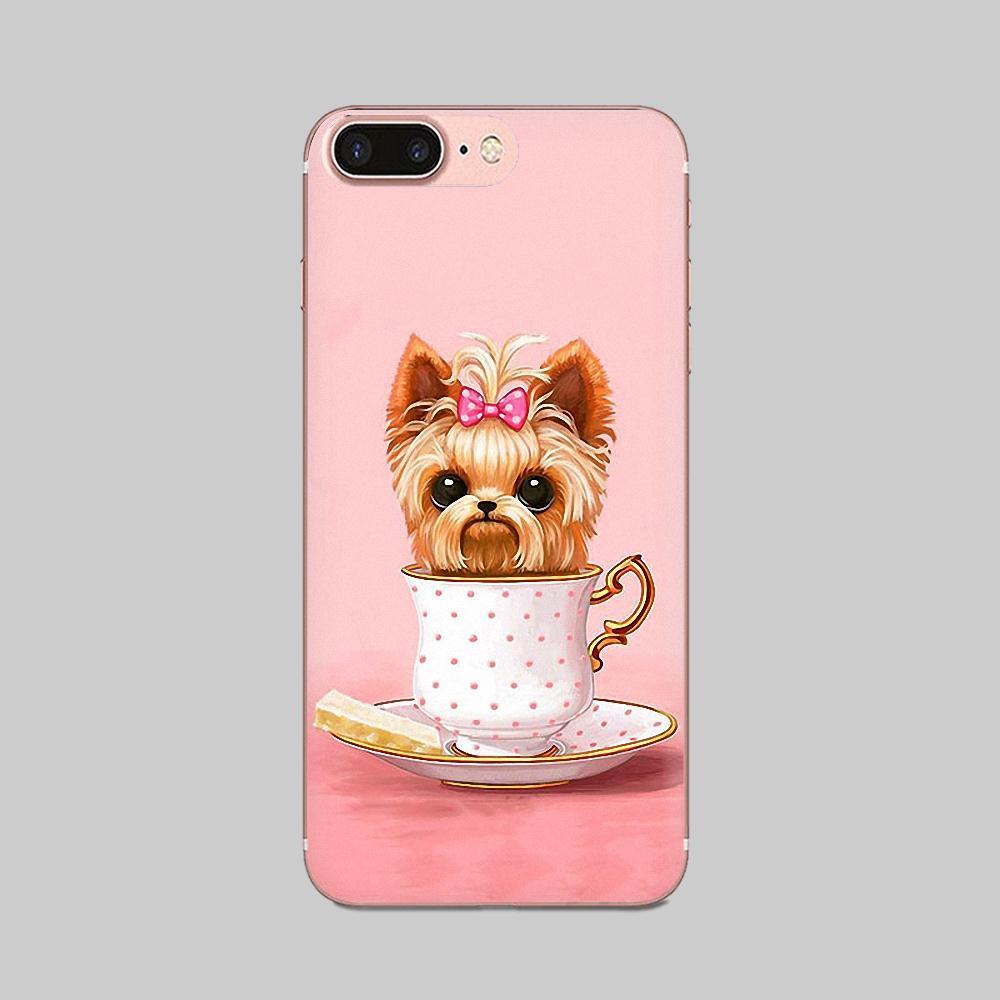 Yorkshire Terrier Dog Novelty Fundas Phone Case Cover For Huawei Mate 9 10 20 P P8 P9 P10 P20 P30 P40 Lite Pro Smart 2017