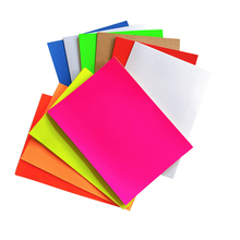 100pcs/lot Lovely Color Adhesive Paper A4 Blank Sticker Label Printing For Inkjet Laser Printer