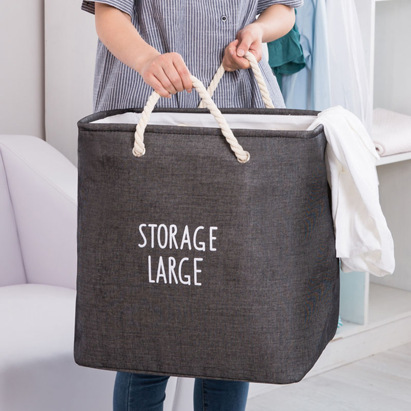 Large Foldable Laundry Basket To Easy Use And Store For Baby Dirty Clothes And Office Use