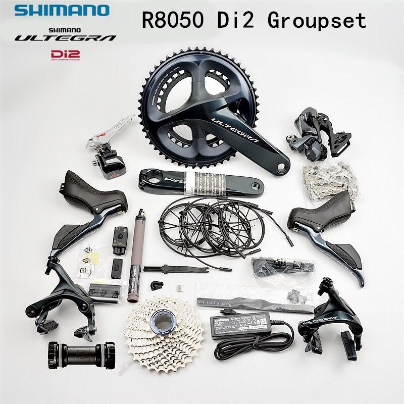 SHIMANO ULTEGRA R8050 Di2 Groupset  R8050 Derailleurs ROAD Bicycle ST+FD+RD R8050 Front Derailleur REAR DERAILLEUR Shifter LEVER