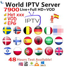 Best Stable IPTV Spain M3U Francais IPTV Portugal Subscription 1 Year IPTV M3U Free VOD for Smart