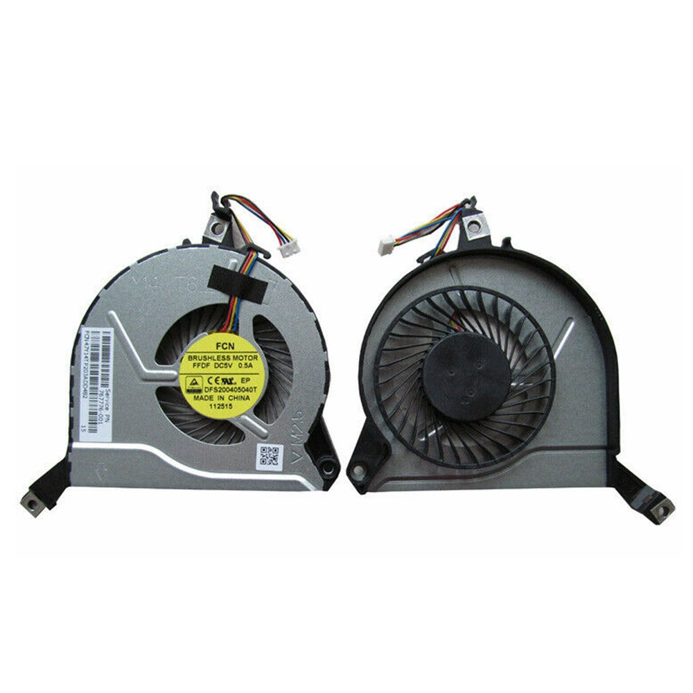 New DFS200405040T For HP 14-P 15-P 16-P 17-P 14-V 15-V 16-V 17-V Cooler Fan 767776-001 767712-001 47Y14TP203A