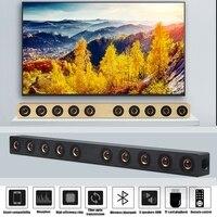 Sonido de cine en casa Bar altavoces Bluetooth inalámbrico TV altavoz para computadora TV barra Supergraves altavoz de graves grande sonido caja