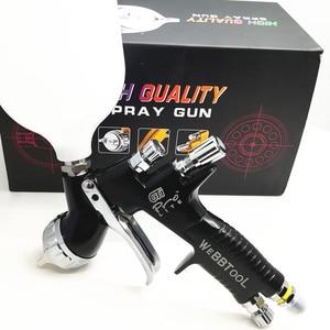 PISTOLA DE PULVERIZACIÓN GTI Pro Lite de alta calidad TE20/T110 1,3/1,8mm pistola de pulverización a base de agua pistola de aire para rociador coche pistola de pintura