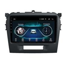 Radio con GPS para coche, reproductor Multimedia con Android 8,1, 9 pulgadas, 2 din, BT, WIFI, para Suzuki Vitara, 2015, 2016, 2017, 2018, 2019