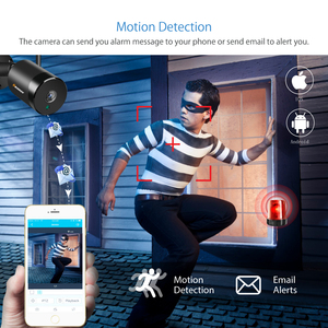 Image 5 - Einnov 180 Degrees IP Camera Outdoor Wifi 1080P Motion Detection 2MP Audio Wireless Security Camera System IR Cam HD Waterproof
