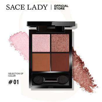 SACE LADY Shimmer Eyeshadow Palette Makeup Pigmented Matte Eye Shadow Pallete High-intensity Long-lasting Make up Cosmetics недорого