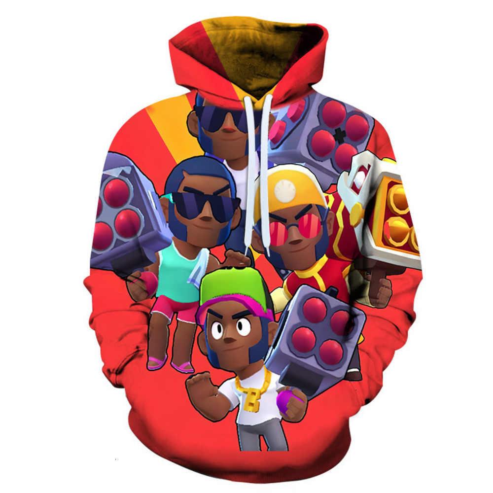 Футболка со звездами для игры «Brawling»; детская одежда с рисунком Леона; мужская одежда; толстовки с капюшоном; толстовка унисекс с 3D принтом; Повседневная Уличная одежда; топы; рубашка со звездами