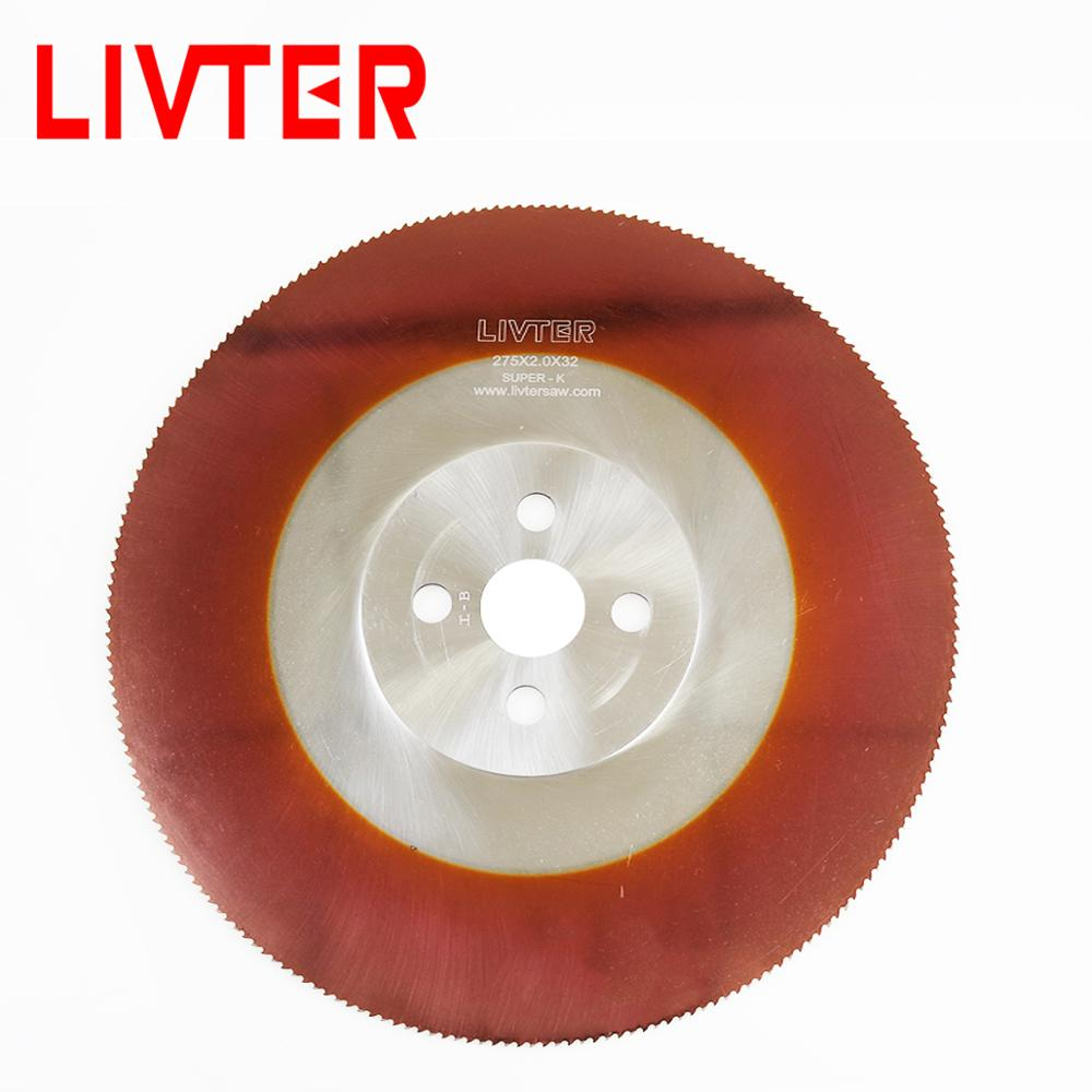 LIVTER More Size Customized Hss Circular Saw Blade For Metal Alumium Copper Steel Pipe Cutting