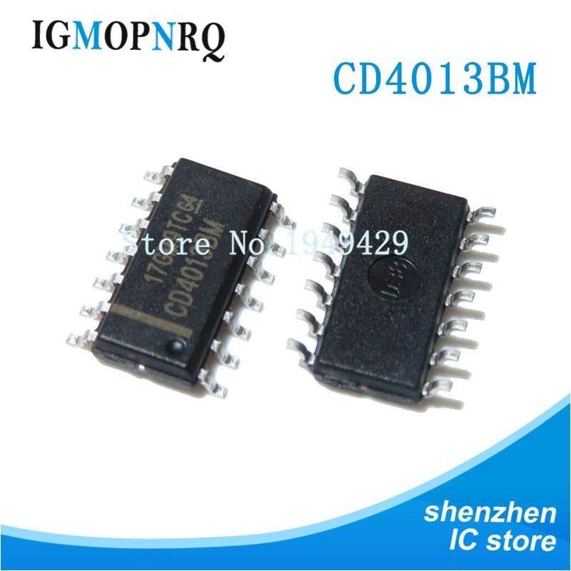 50 PCS CD4013BM96 SMD CD4013BM CD4013 Dual D Flip-Flop