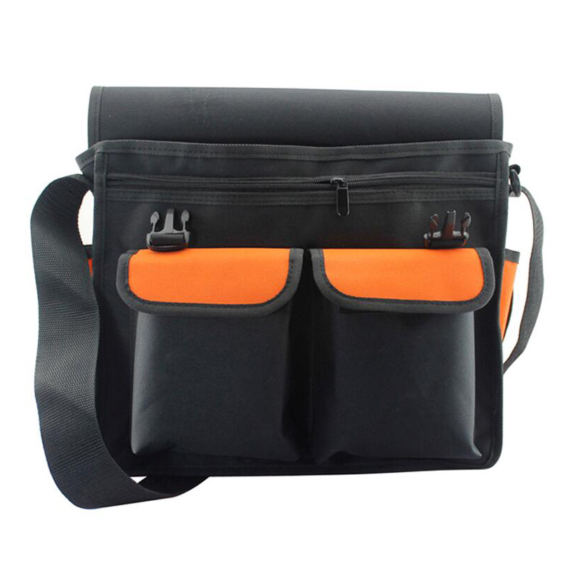 Multi-Function Tool Bag Waist Bag Shoulder Bag Hardware Electrician Tool Kit Tool Bag Oxford Cloth Shoulder Bag Tool Storage Bag
