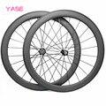 YASE велосипед Powerway R13 набор колес 700c Аксессуары для велосипеда 50x23 мм clincher дорожный велосипед Колесная пара велосипед Карбоновые дорожные ко...