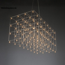 Modern Luxury Chandelier Large Hotel Decoration Chandelier Lighting Supermarket Restaurant Hanging Lamp Luster light fixtures