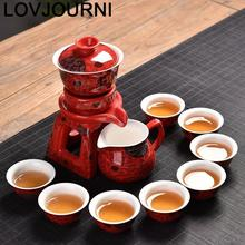 Dekoration Garden Cucina Pot With Infuser Kung Fu Gongfu Teapot Home Decoration Accessories Teaware China Chinese Tea Set