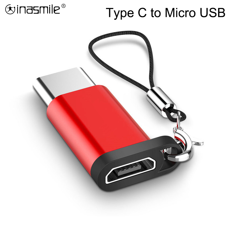 Mobile Phone Adapter Type-C To Micro USB Adapter Micro Usb Connector For Huawei Xiaomi Samsung Galaxy S10+ Adapter USB Type C