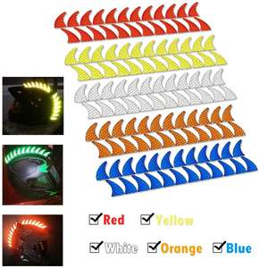 5 Color Reflective Trim Motorc