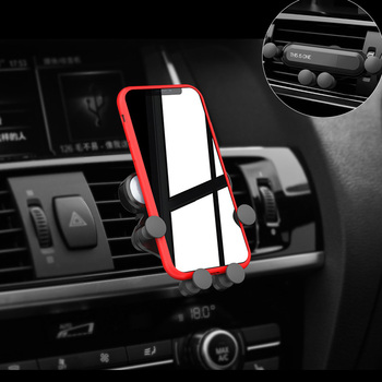 Car Phone Holder GPS Stand Gravity Stand For Hyundai solaris accent ix35 i20 elantra santa fe tucson getz image