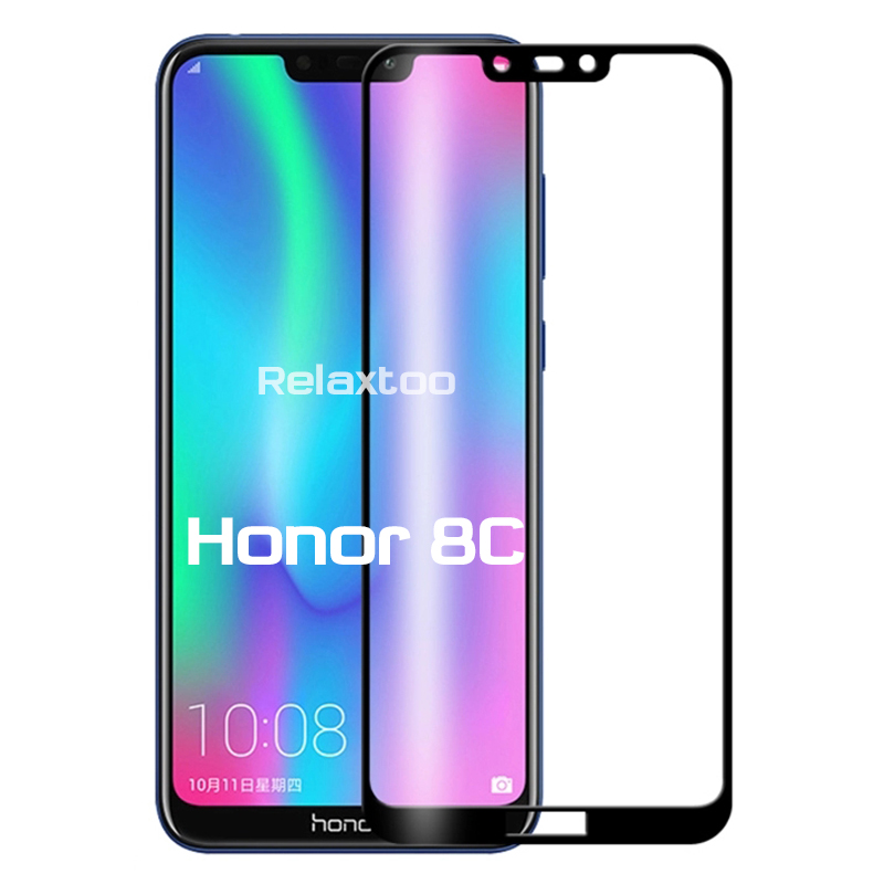 Honor8C Glass Tempered Glass For Huawei Honor 8C BKK-LX2, BKK-LX1, BKK-L21 6.26'' Screen Protector Honer 8C C8 Safety Armor Film