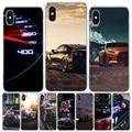 GTR спортивный автомобильный чехол для телефона Iphone 12 MIni 11Pro MAX XS 8 7 6 6S Plus X 5 5S SE XR SE 2020, чехол, оболочка