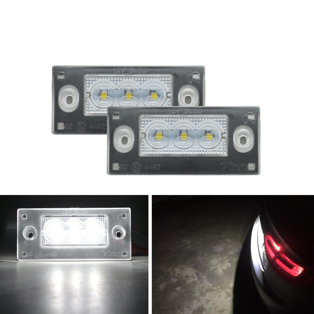 LED License Plate Light For <font><b>Audi</b></font> <font><b>A4</b></font> S4 Avant Hatchback ONLY,<font><b>1999</b></font>-2001,For RS3 <font><b>B5</b></font> ,For A3 2001-2003 image