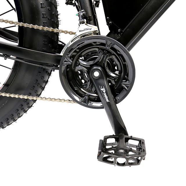 Электрический велосипед HOTEBIKE 26*4,0 дюймов, 60 в 2000 Вт, максимальная скорость двигателя 55 км/ч, снег, пляж, велосипед, 18AH аккумулятор (A7AT26)