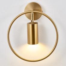 Nowoczesna lampa sufitowa Led oświetlenie w stylu nordyckim oprawa salon sypialnia lampki nocne minimalistyczny salon jadalnia Spotlight Gold Lights