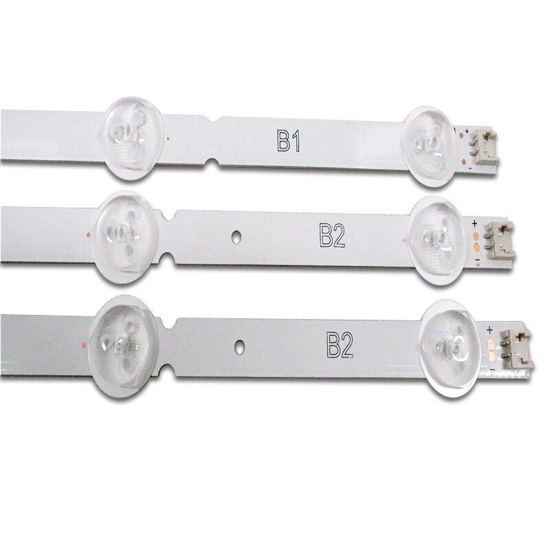 New Original Kit 3 PCS*7LED 630mm LED Backlight Strip For LG 32LN541V 32LN540V B1/B2-Type 6916L-1437A 6916L-1438A LC320DUE SF R1