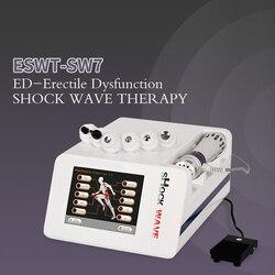 2020 Nieuwe Shockwave Therapie Machine Ed Behandelingen Pijnbestrijding Therapie Apparaat 5 Bar Shockwave Therapie Machine