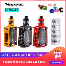Veeape Warwolf zestaw do e-papierosa 150w wbudowany 3500mAh akumulator e-papieros Laser vape box mod natychmiastowy 0 025 sekundy duży wyjście vs LUXE tanie tanio Z Baterią 3500 mAh warwolf 150w kit Box Shape 510 thread None Metal 1-150W 87 x 65 x 29mm 0 1ohm-5ohm(0 3ohm is the best)