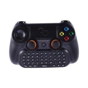 Gamepad teclado 3 em 1 2.4ghz multifunções controlador de teclado sem fio prespad para pc/android caixa de tv inteligente